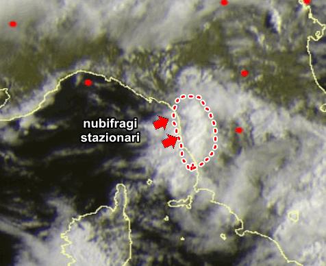 Nubifragio in Versilia, danni e disagi