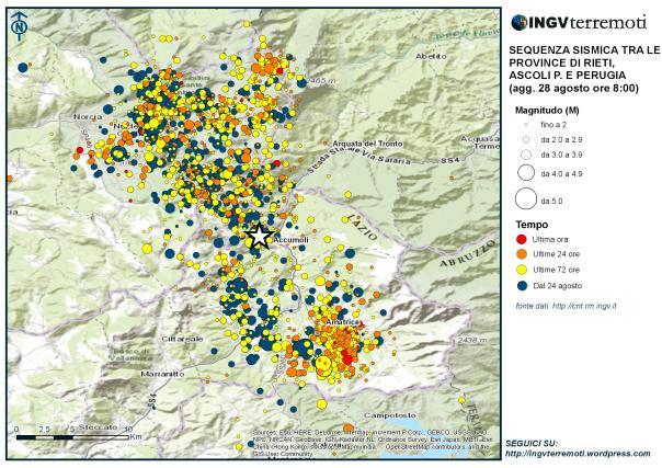 Terremoto: mille scosse, 281 morti e 388 feriti