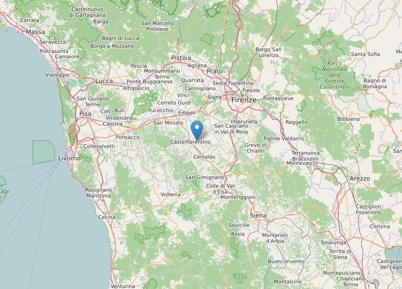Terremoti: scossa lieve in Toscana, a Sud di Firenze
