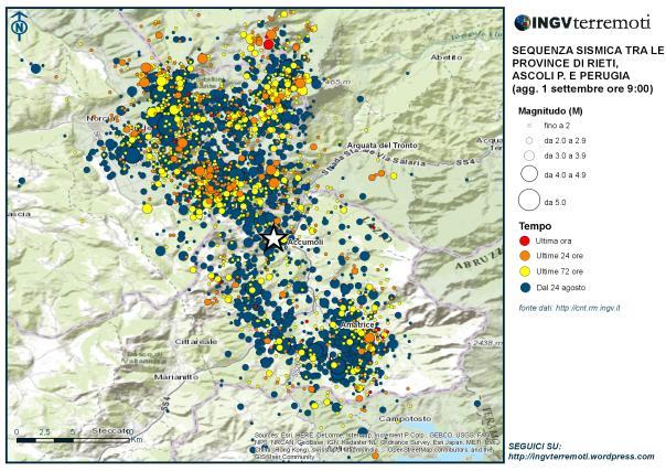 Terremoto in Centro Italia, nuove forti scosse a Norcia
