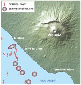 Risultati immagini per sei vulcani vicino napoli