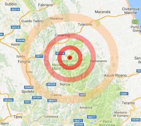Terremoto Marche: a Roma scossa avvertita in molte zone, gente in strada