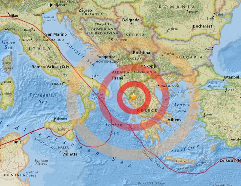 Scossa di terremoto registrata in Grecia avvertita anche a Lecce