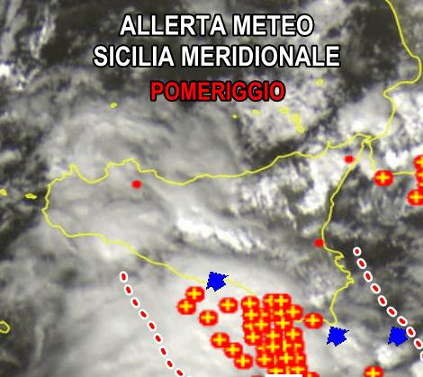 Sicilia, fiume d'acqua a Licata