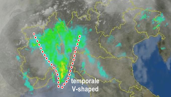Genova, è allerta maltempo per frane. Tre famiglie evacuate
