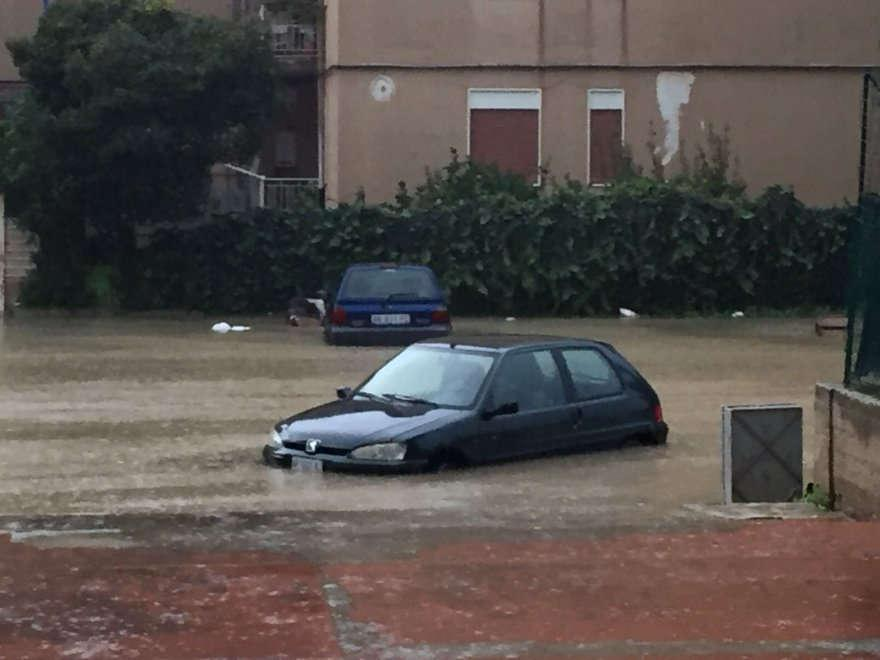 Maltempo in provincia di Agrigento Sciacca non uscite di casa