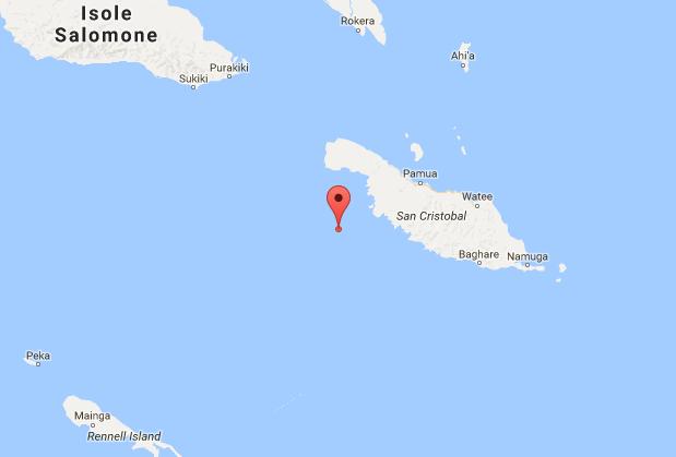 Sisma di magnitudo 7.8 alle isole Salomone, è allarme tsunami