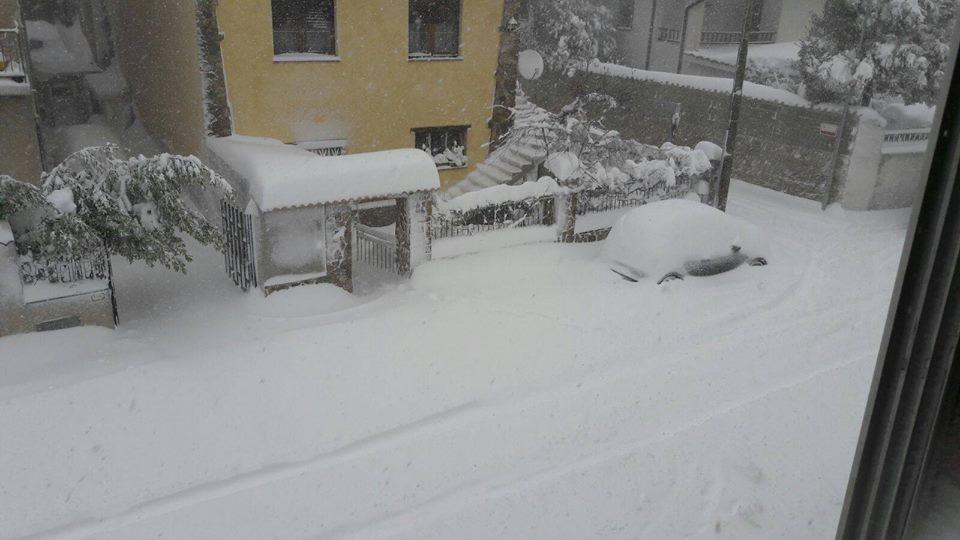 In Sardegna allerta per neve e gelo fino a mercoledì 18 gennaio