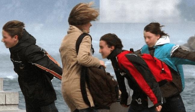 Tragedia da Pasta Zara: morto a causa della Bora