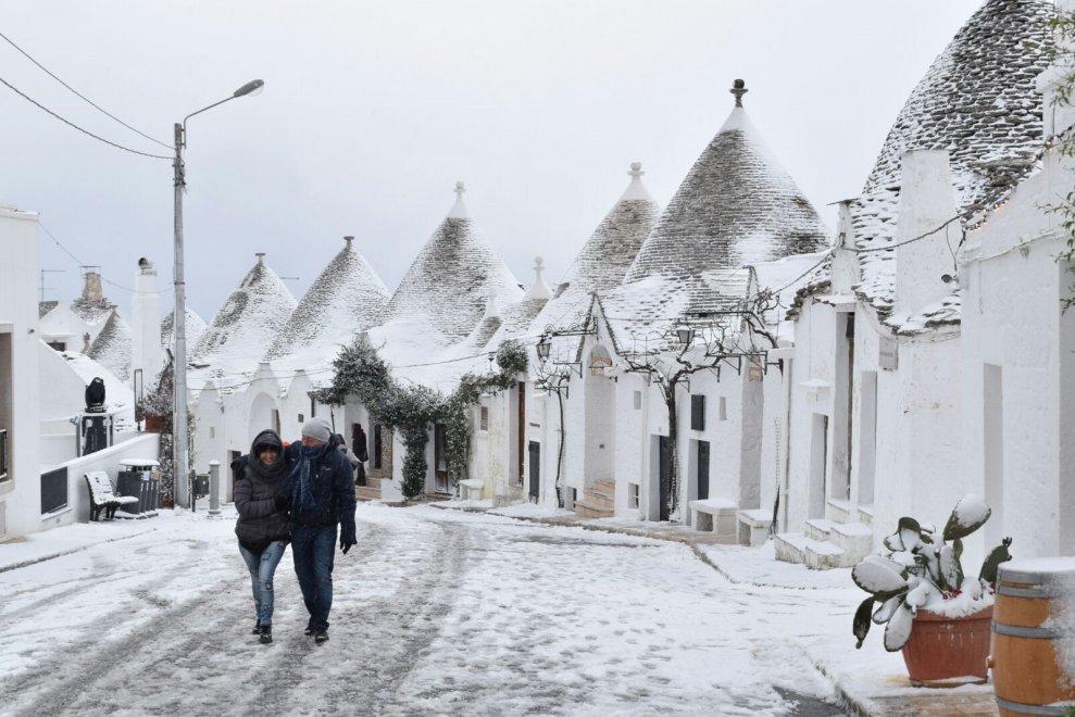Molfetta: Neve, l'allerta meteo confermata fino alle 21 di oggi