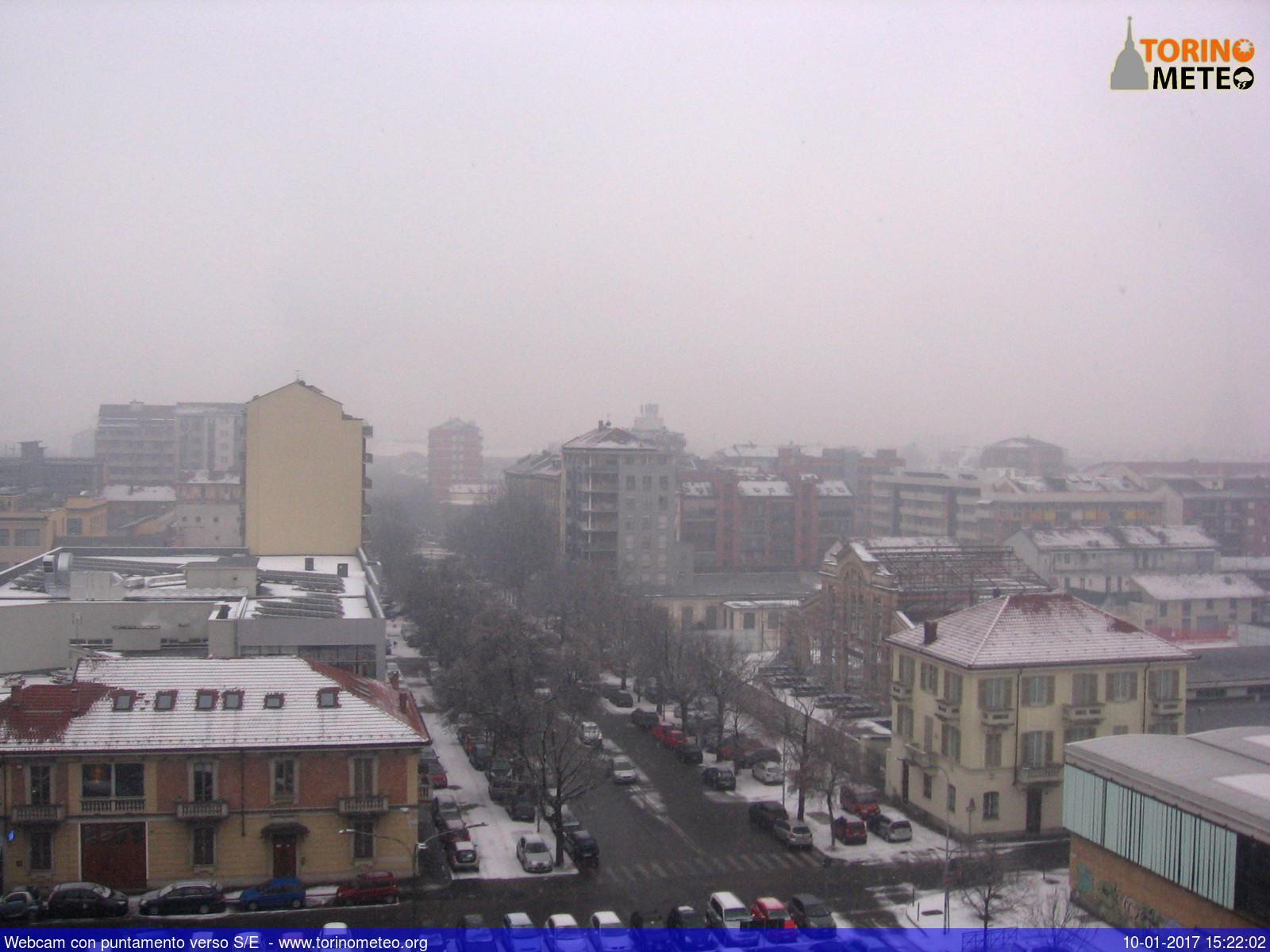 Meteo storica nevicata contemporanea in atto su torino e for Torino contemporanea