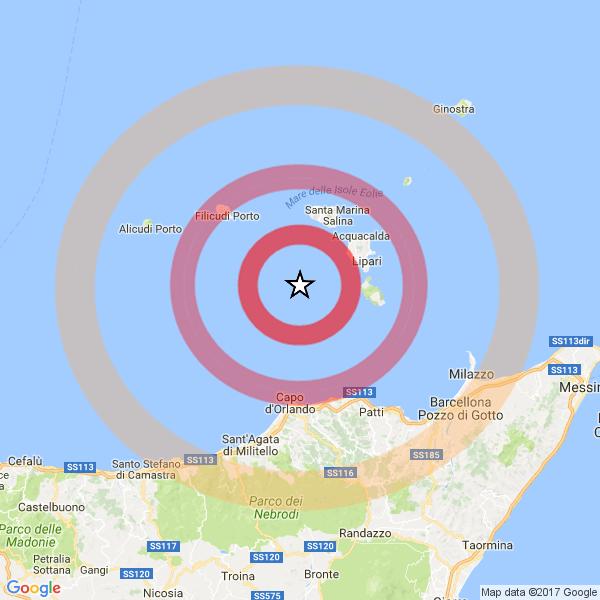 Terremoto in Sicilia: oggi, 27 febbraio, intensa scossa di magnitudo 4.0