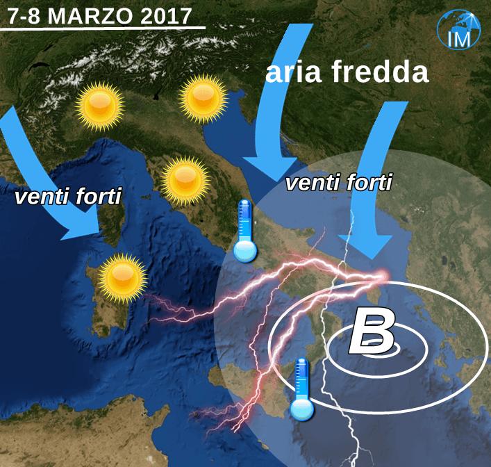 Previsioni meteo 11 marzo: tempo stabile e soleggiato in tutta Italia