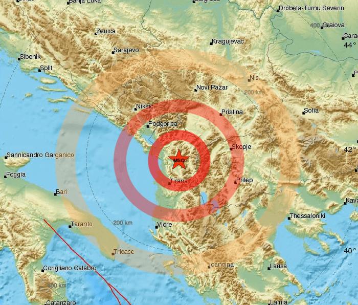 Scossa di terremoto di magnitudo 3.3 nel cuneese
