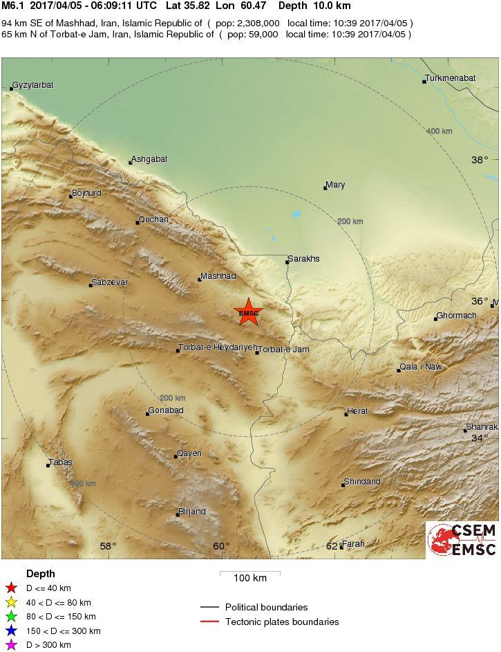Erve, lieve scossa di terremoto di magnitudo 1,6 nella notte