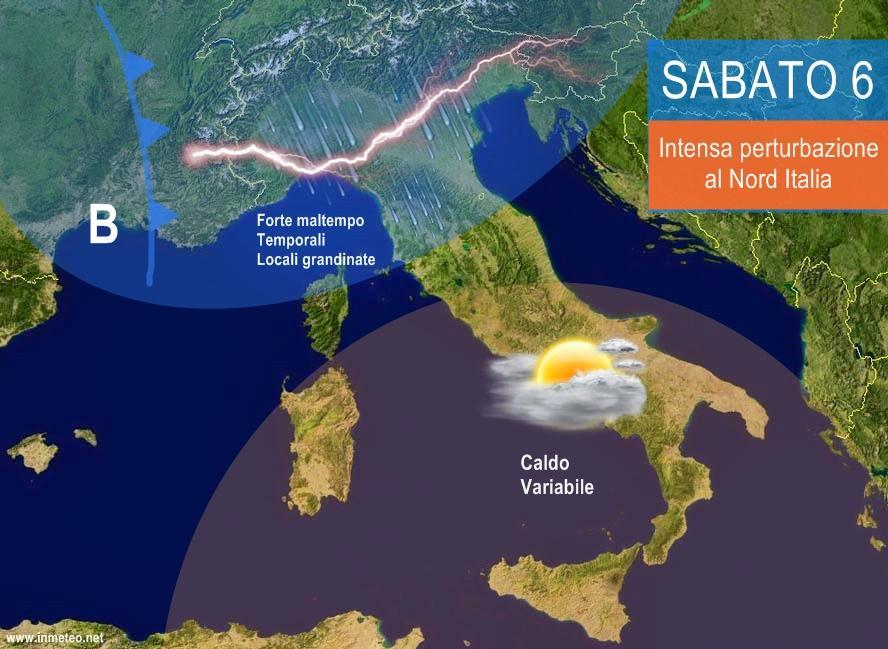 Previsioni meteo per il week end, la primavera retrocede: arriva vortice Igor