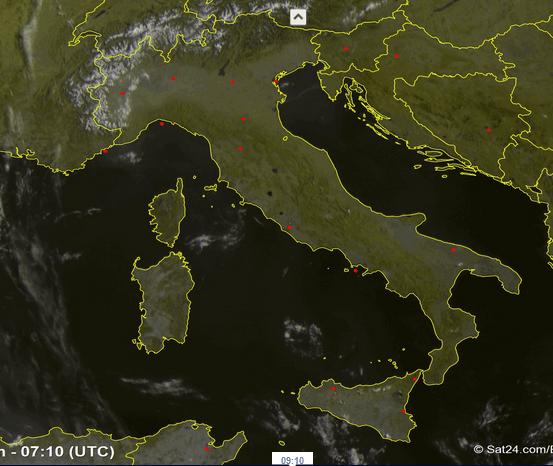 Hannibal e Scipione, settimana di caldo torrido in tutta Italia