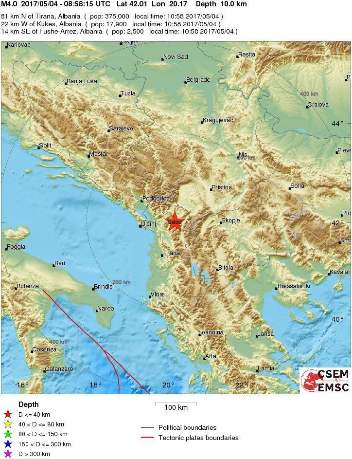 terremoto albania - photo #19