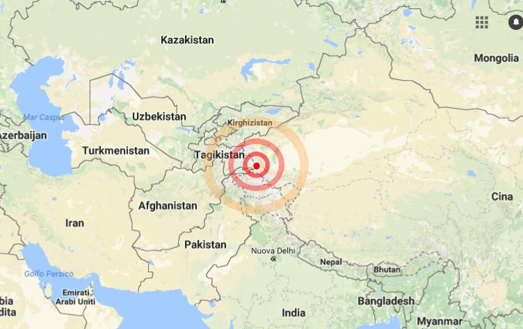 Terremoto nel nord ovest della Cina