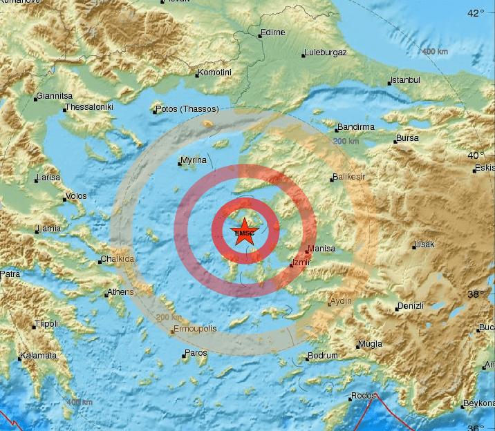 Terremoto in Adriatico di magnitudo 3.2, debolmente avvertito in Puglia e Abruzzo