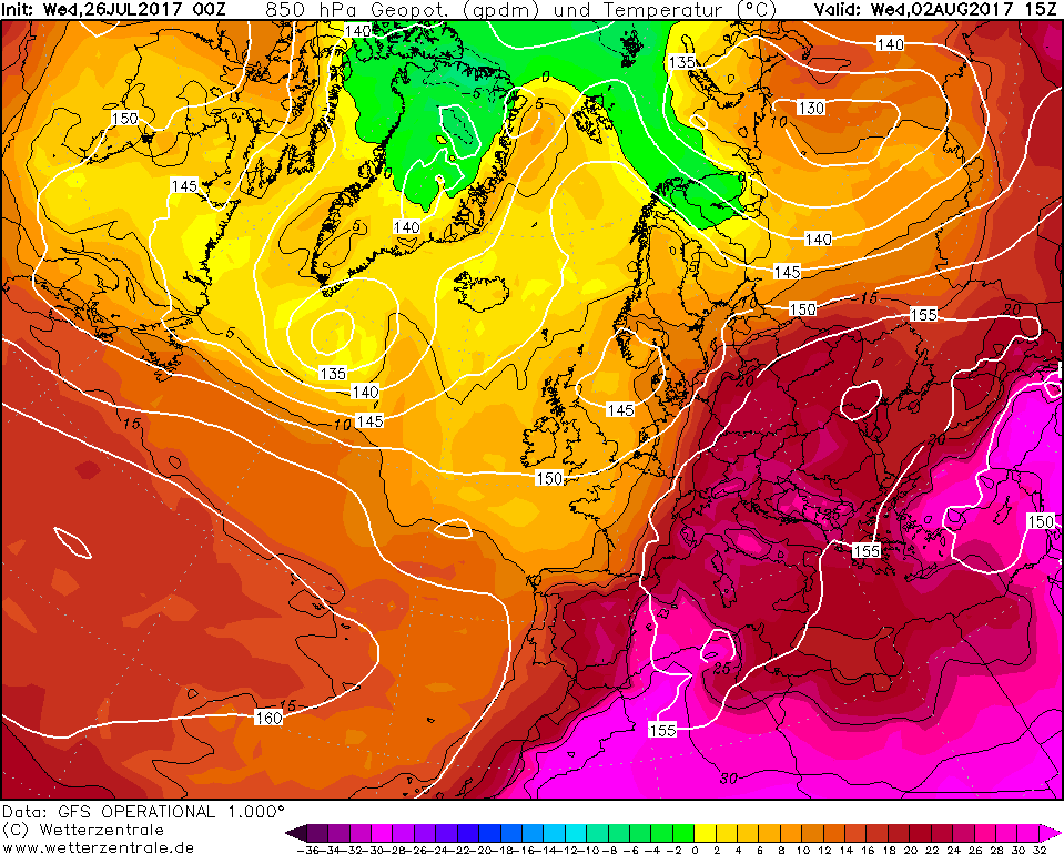 Meteo: weekend caldo con temporali, lunedì torna l'Anticiclone nordafricano
