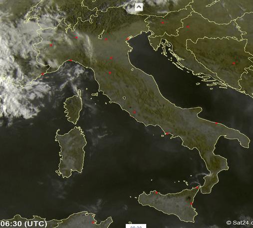Previsioni meteo Abruzzo martedì 22 agosto