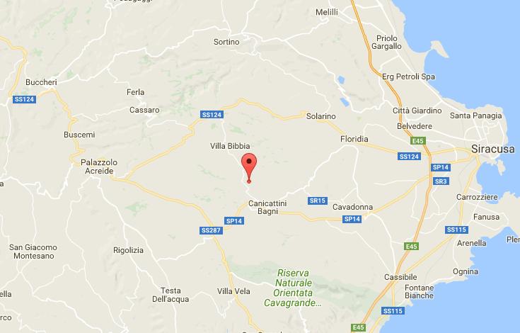 Sicilia : debole scossa di terremoto tra Canicattini Bagni, Solarino ...