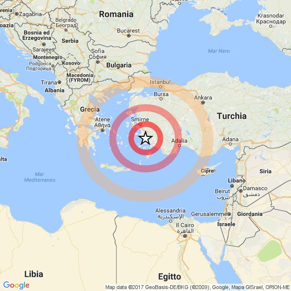 Calabria, scossa di magnitudo 4.3 nella notte. Nessun danno