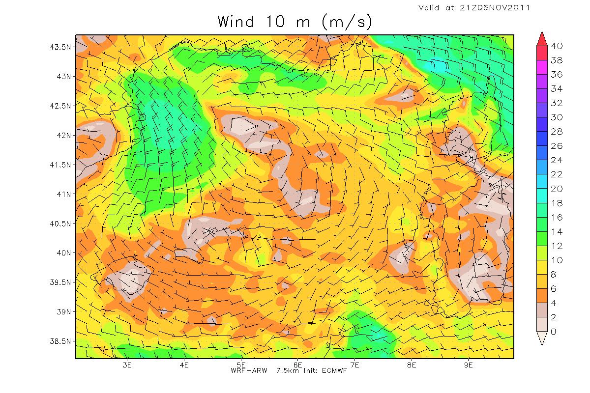 modellistica WRF uragano TLC