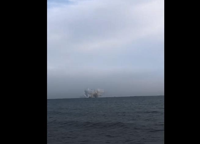 Air Show Terracina, l'esplosione del velivolo