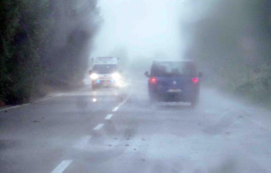 Allerta meteo Sardegna, domani rischio nubifragi