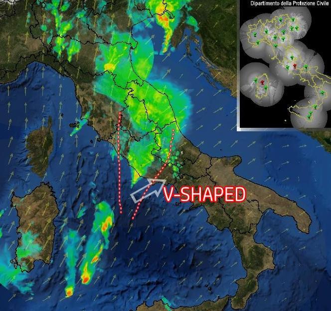 Meteo Roma: prolungato temporale con oltre 100 mm di pioggia