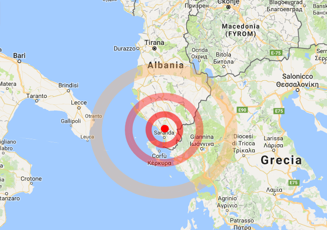 Terremoto Albania, scossa M4.0