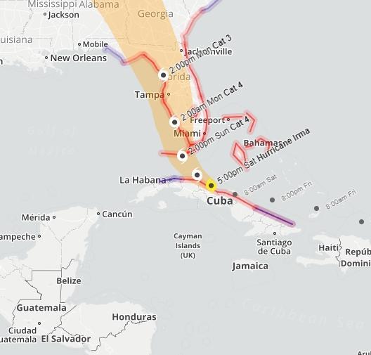 Uragano Irma, blackout a Cuba: evacuate 7 milioni di persone
