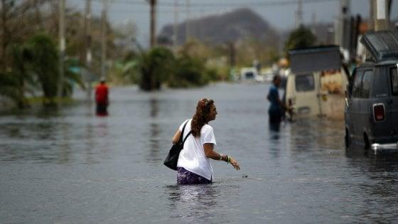 Uragano Maria devasta Porto Rico