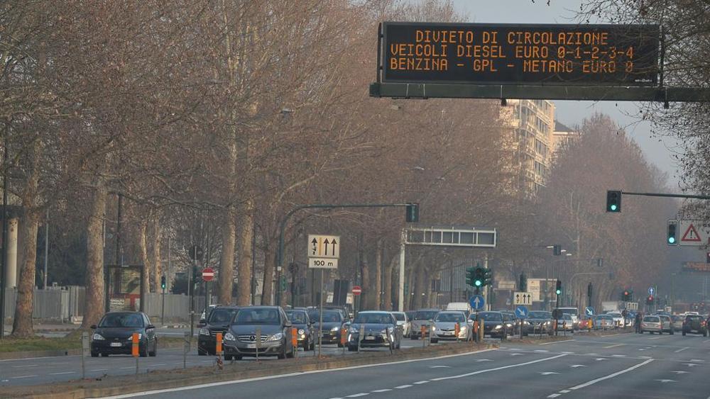 Blocco traffico divieto per i diesel Euro 4
