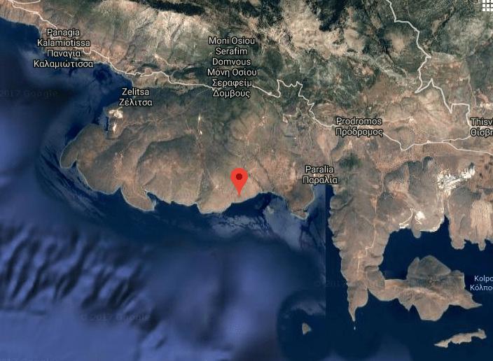 Capodanno (ellenico) con terremoto: forte scossa a Corinto
