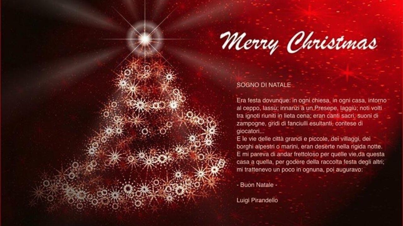 Messaggi Di Auguri Buon Natale.Natale 2017 Ecco Le Piu Belle Frasi Per Fare I Vostri Auguri Di Buon Natale