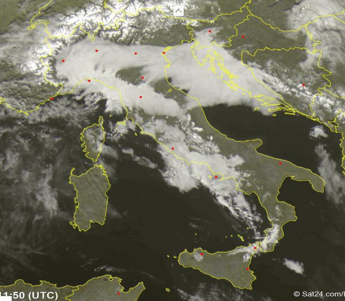 Maltempo sull'Italia: pioggia, vento e mareggiate. Poi sarà Befana Storm