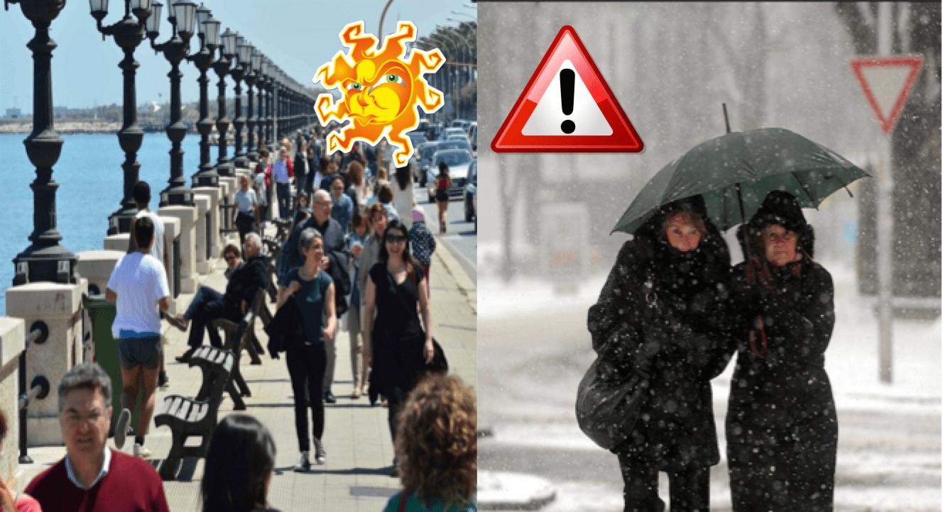 Previsioni meteo: altalena termica, passeremo dalla neve al caldo