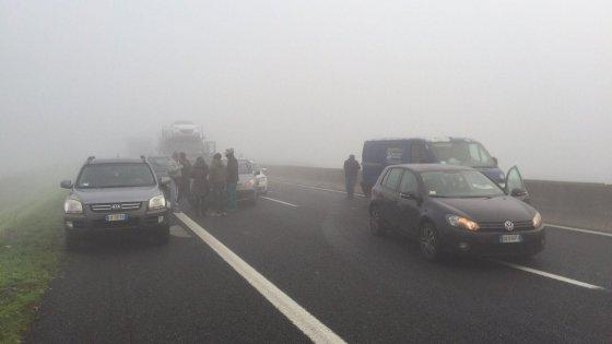 Nebbia, schianto mortale a Occhiobello. A13 paralizzata