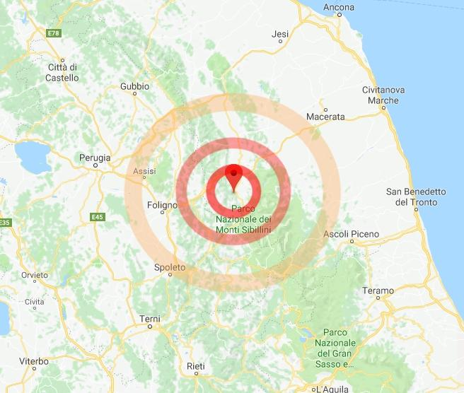 Terremoto tra Campania e Calabria: ecco le zone coinvolte