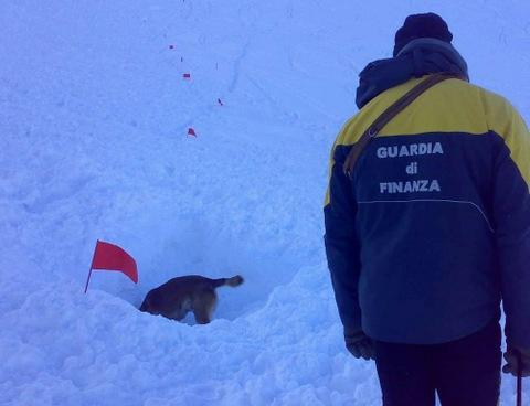 Valanga all'Aremogna di Roccaraso : travolti due sciatori