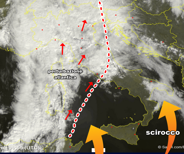 Al Nord i nubifragi, in Sicilia 26°