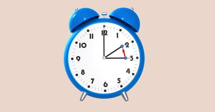 Domenica 25 marzo torna l'ora legale: lancette avanti di 60 minuti