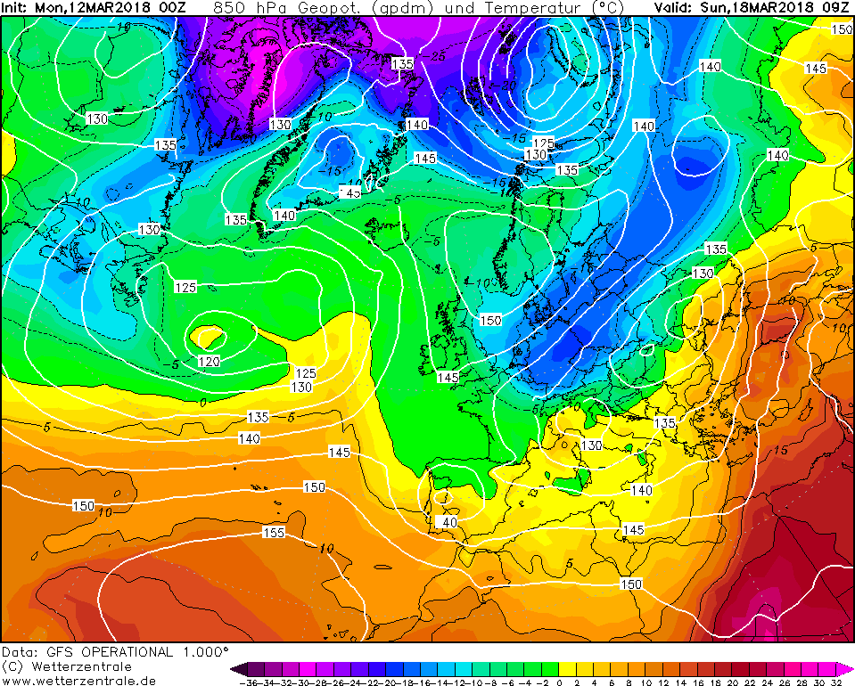 Previsioni meteo lungo termine nuova ondata di gelo verso l 39 europa ripiomba l 39 inverno - Previsioni mercato immobiliare lungo termine ...