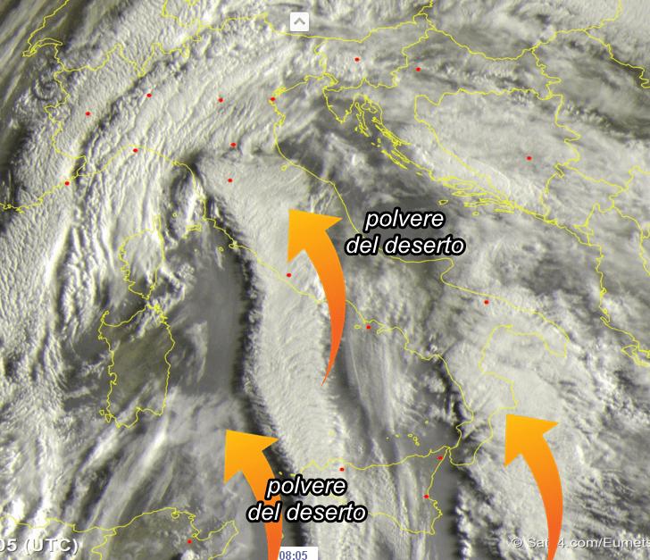Tempo instabile tutta la settimana: clima più fresco e qualche temporale