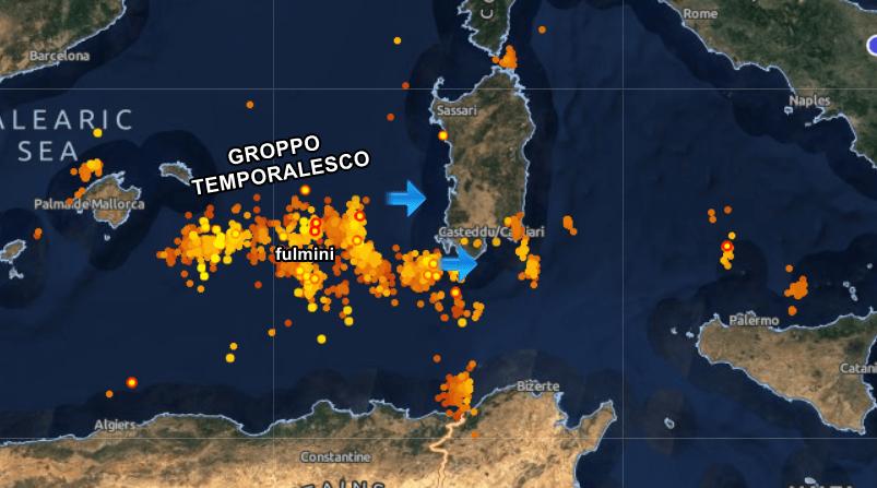 Meteo Napoli, dall'afa ai temporali: fine agosto variabile