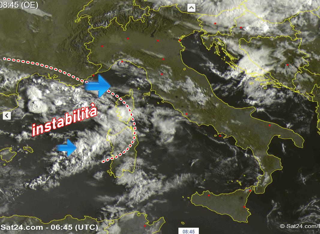 METEO ITALIA: temporali in arrivo, poi sole e caldo per diversi giorni