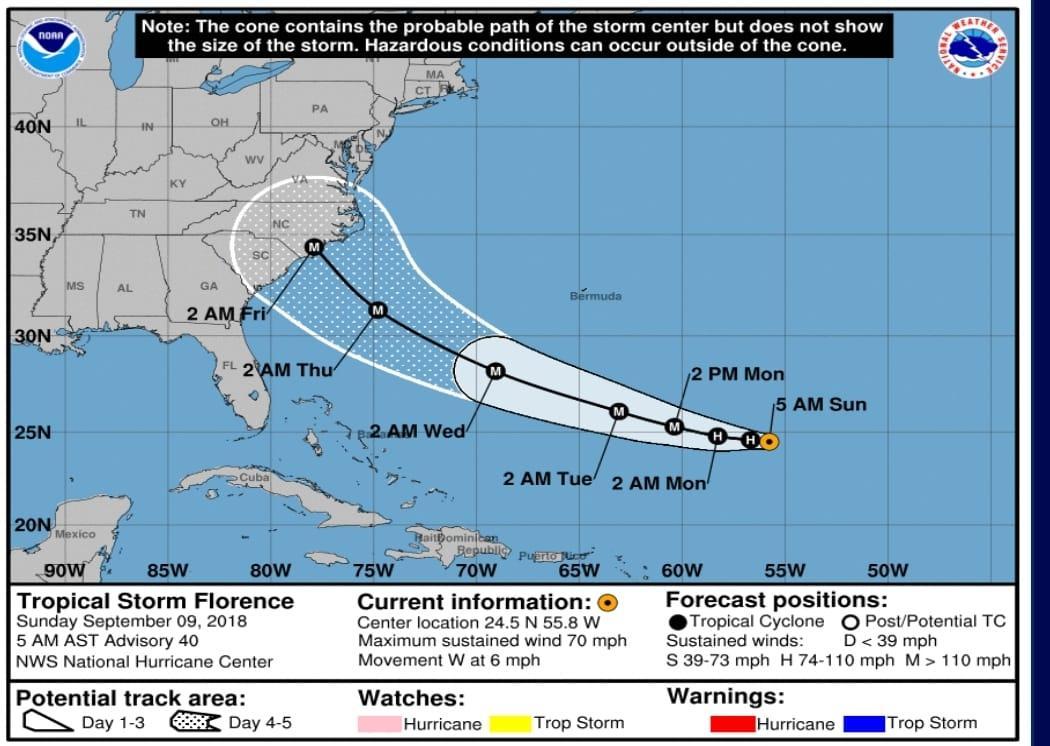 Florence, domani 1 milione di evacuati